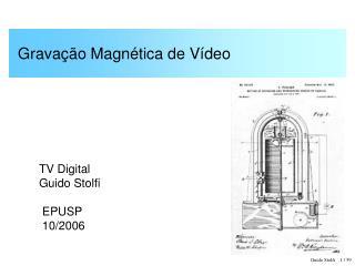Gravação Magnética de Vídeo