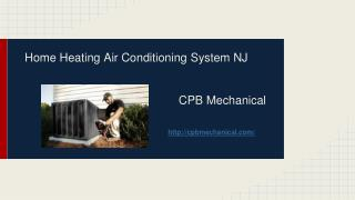 Home Heating Air Conditioning System NJ