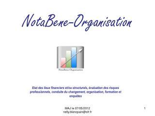 NotaBene -Organisation