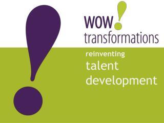 r einventing talent  development