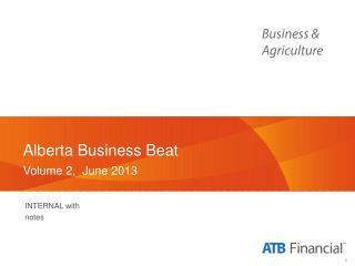 Alberta Business  Beat