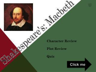 Shakespeare's: Macbeth