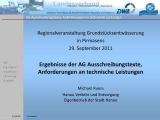 AG Ing.-Büros Inspektion Sanierung Ausblick