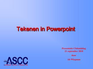 Tekenen in Powerpoint