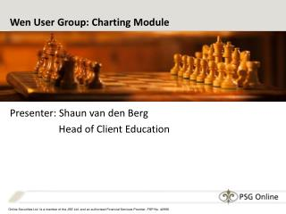 Wen User Group: Charting Module
