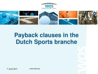 Payback clauses in the Dutch Sports branche