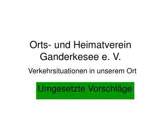 Orts- und Heimatverein Ganderkesee e. V.