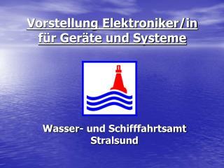 Vorstellung Elektroniker/in für Geräte und Systeme