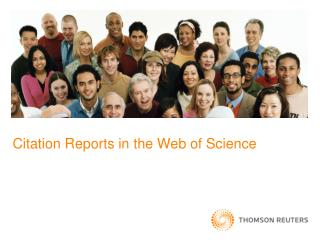 Citation Reports in the Web of Science