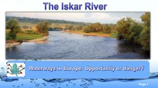 The Iskar River