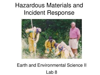 Hazardous Materials and Incident Response
