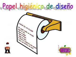 Papel higiénico de diseño