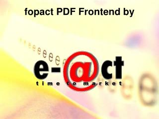 fopact PDF Frontend by