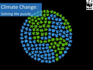 Climate Change: Solving the puzzle…