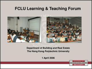 FCLU Learning & Teaching Forum