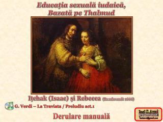 Educaţia sexuală iudaică, Bazată pe Thalmud