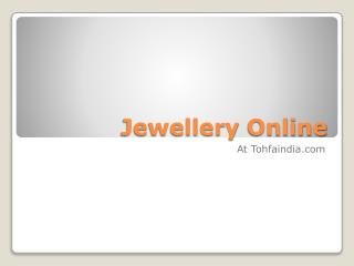 Fashion jewellery online