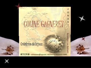 COLINE GAGNERET