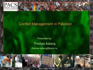 Conflict Management in Pakistan