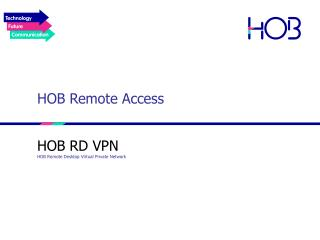 HOB Remote Access