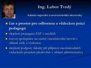 Ing. Lubor Tvrdý