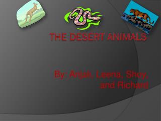 The Desert Animals