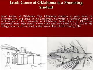 Jacob Gonce of Oklahoma is a Promising Student