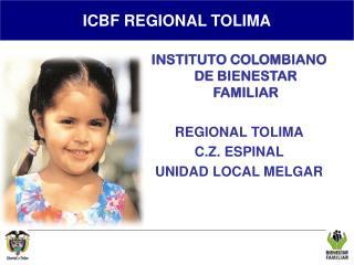 REGIONAL TOLIMA
