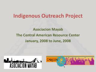 Indigenous Outreach Project