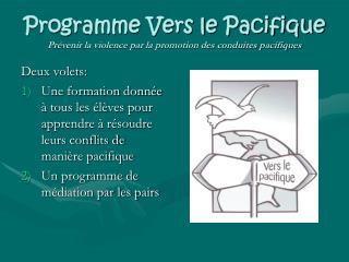Programme Vers le Pacifique Prévenir la violence par la promotion des conduites pacifiques