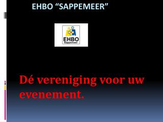 """EHBO """"Sappemeer"""""""