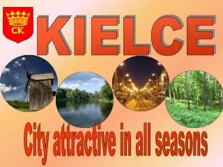 City attractive in all seasons