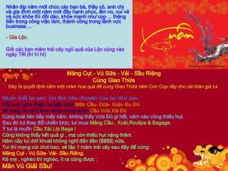 Măng Cụt - Vú Sữa - Vải - Sầu Riêng Cúng Giao Thừa