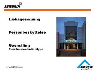 Lækagesøgning Personbeskyttelse Gasmåling  Flow/koncentration/type