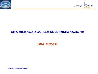 Roma, 11 ottobre 2007