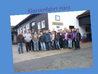 Klassenfahrt Harz