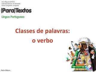 Classes de palavras: o verbo