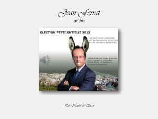 Jean Ferrat L'âne