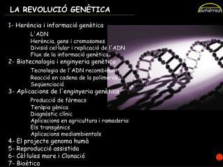 1.1 L' ADN