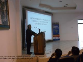 Econ. Gladys  Ordoñez  M.Sc . Ponente , Universidad de Especialidades Espíritu  Santo .