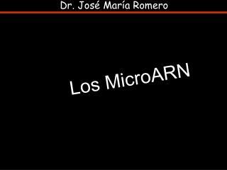 Dr. José María Romero