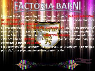 FACTORIA BARNI