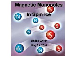 Magnetic Monopoles   In Spin Ice