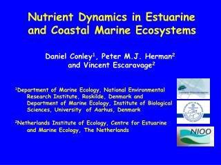 Nutrient Dynamics in Estuarine  and Coastal Marine Ecosystems