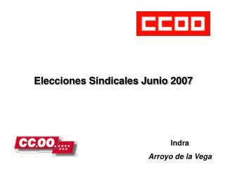Elecciones Sindicales Junio 2007