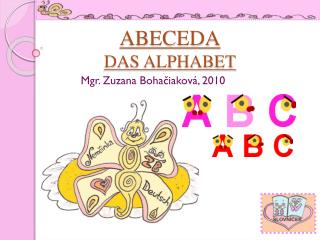 ABECEDA DAS ALPHABET