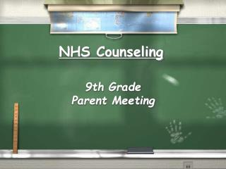 NHS Counseling
