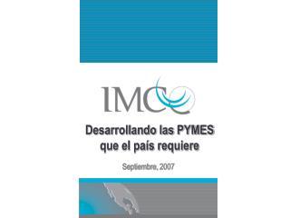 Desarrollando las PYMES que el país requiere