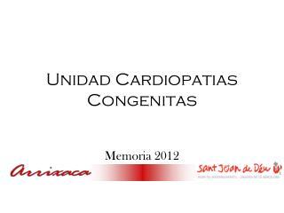 Unidad Cardiopatias Congenitas