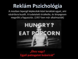 Reklám Pszichológia